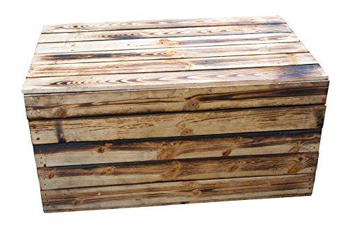 1x Neue geflammte Holztruhe (größte Größe) - 2