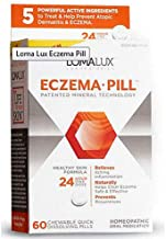 Loma Lux Laboratories Homeopathic Supplement, Eczema, 60 Count (3 Pack)