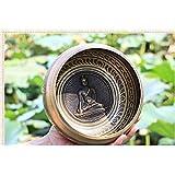 仏の歌は、ネパールの手作りボウルサウンドセラピーヨガボウルチベットの歌ボウルボウル (Color : 2, Size : 10.5cm)