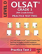 OLSAT Grade 3 (4th Grade Entry) Level D: Practice Test Two Gifted and Talented Prep Grade 2 for Otis Lennon School Ability Test
