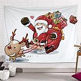 QYQS Decoraciones Navideñas, Tapicería para Dormitorio, Tapices para Sala De Estar Dormitorio Dormitorio(Size:60x90cm/24x35in)
