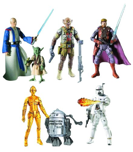 Hasbro Star Wars: Ralph McQuarrie Concept Collection Action Figure Set (1 of 2)