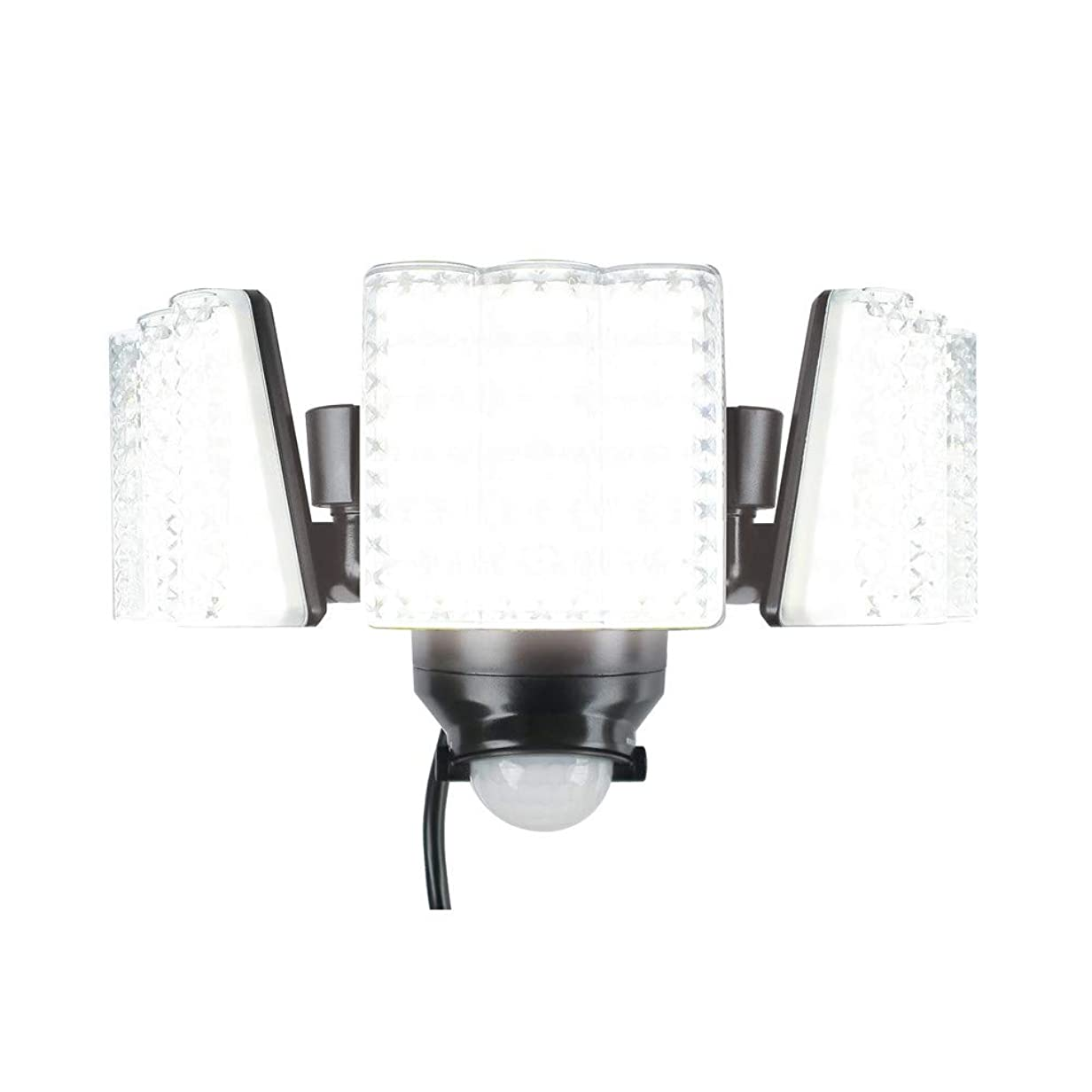 干ばつラベルバランス大進(ダイシン) 大進(DAISIN) LED センサーライト 3灯式 DLA-7T300 DLA-7T300 奥行24×高さ13.5×幅16cm