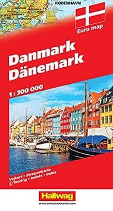 Danimarca-Danmark-Danemark 1:300.000
