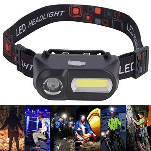 Lámpara de cabeza multifunción para exteriores con luz frontal súper brillante para ciclismo y senderismo