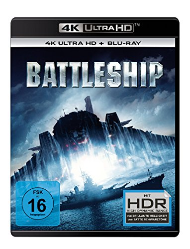 Battleship (4K Ultra HD) (+ BR) [Blu-ray]