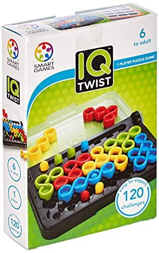 Games-SG488 Smart Games IQ Twist, Multicolor (TGO-032)