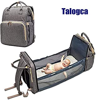 talogca Changing Bag and Crib in one, Multifunctional,