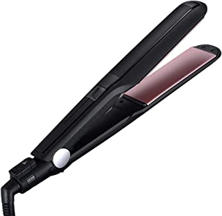 Professional Salon Quality Flat Iron Extra-Large Nano Titanium Plate Hair Straightener Instant Heat Up,Travel Hair Straightening Iron Smooth Glide for All Hair Types