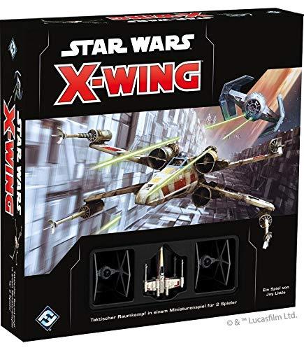 Asmodee Fantasy Flight Games FFGD4100 SW: X-Wing 2.Ed. - Grundspiel, Experten-Spiel, Deutsch