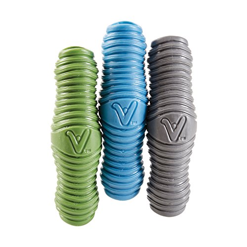 HealthSmart Vivi uGrips Ergonomic Universal Handle Grips for Home, Kitchen, Sporting Equipment, Garden and the Outdoors, Comfortable and Versatile, 3 Grips, Blue, Green, Gray
