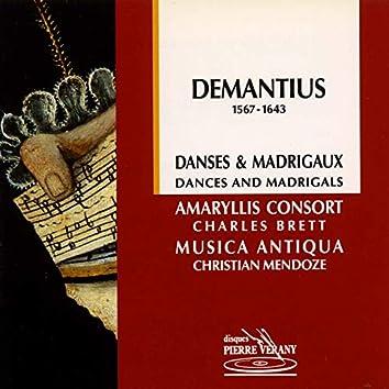 Demantius : Danses & madrigaux