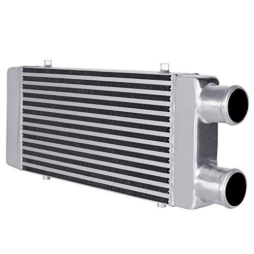 MODAUTO Intercooler Universal, Radiador admisión Aire Aluminio, Ajuste Directo, Modelo E252