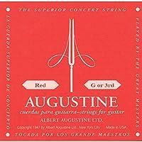 AUGUSTINE RED 3弦 クラシックギター弦 バラ弦
