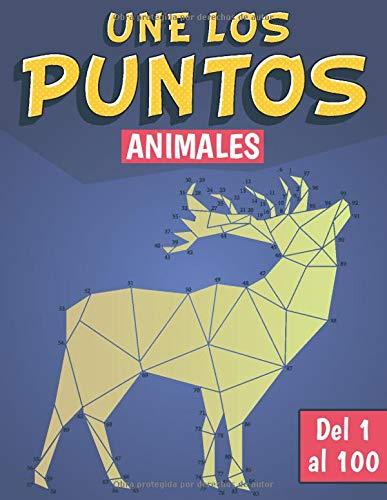 Une los puntos Animales: Une los puntos niños de 1 al 100   Unir Puntos para Niños Edades 6-12