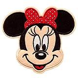 Parche Termoadhesivo Minnie Grande - 14.9 x 13.1 cm - Parche para Ropa Infantil...
