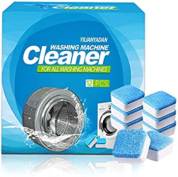 12-Count iShoow Washer Machine Cleaner Effervescent Tablets