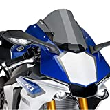 Puig 7648F RACING SCREEN 【DARK SMOKE】 YAMAHA YZF-R1 (15-) プーチ スクリーン カウル オートバイ バイク パーツ
