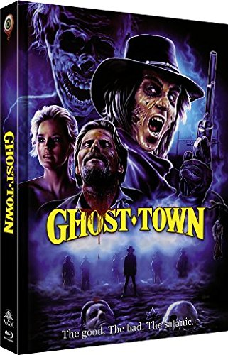 Ghost Town - UNCUT - 2-Disc Limited Collector's Edition Nr. 12 (Blu-ray + DVD) - Limitiertes Mediabook auf 444 Stück, Cover C