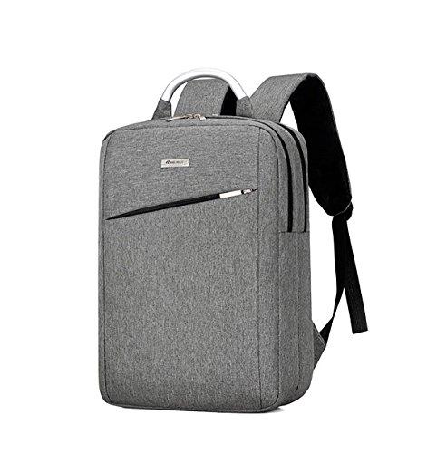 Arrizo portátil mochila para hombres y mujeres, impermeable bolsas de viaje para el negocio se adapta Hasta 15.6Macbook ordenador en gris