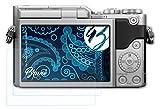 Bruni Película Protectora Compatible con Panasonic Lumix DC-GX880 Protector Película, Claro Lámina Protectora (2X)