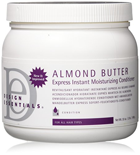 Design Essentials Almond Butter Express Instant Moisturizing Conditioner, Best Value- 32oz