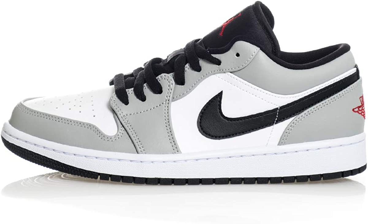 Amazon.com   Nike Air Jordan 1 Low Light Smoke Grey   Basketball