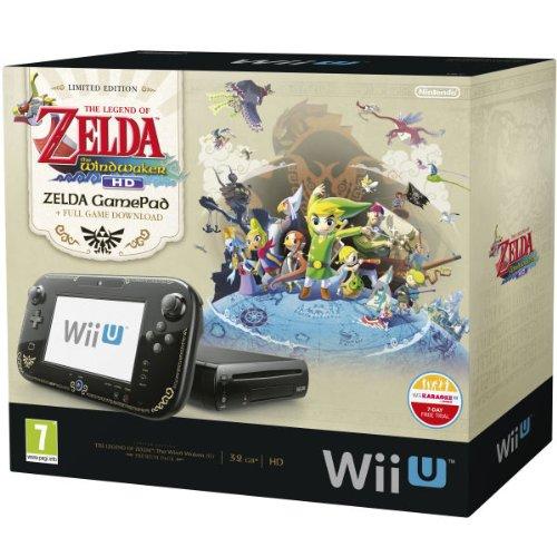 Nintendo Wii U 32GB The Legend of Zelda : Wind Waker HD Premium Pack - Black[import anglais]