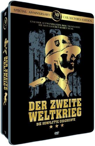 Der 2. Weltkrieg: Die komplette Geschichte (Metallbox/ 6 DVDs)