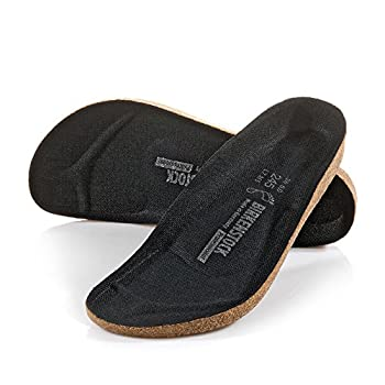 BIRKENSTOCK Unisex s fußbett Replacement Foot Bed for Work Shoe Clogs Super-Birki 40 Black  Black  EU