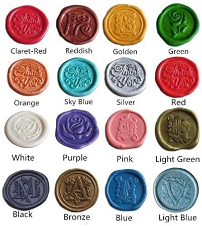 stamp wax Brone color lucky star Sealing wax