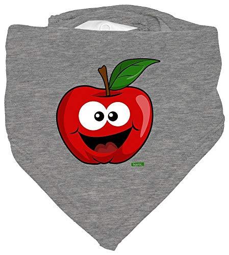 Hariz - Pañuelo de cuello para bebé, diseño de manzanas y frutas, multicolor