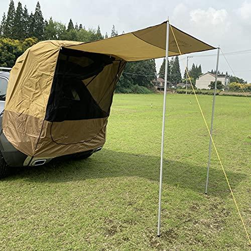 Ceyka Toldo portón trasero para viajes pequeños y medianos SUV impermeable, portátil, para coche, baldaquín, caravana, remolque, tienda de campaña
