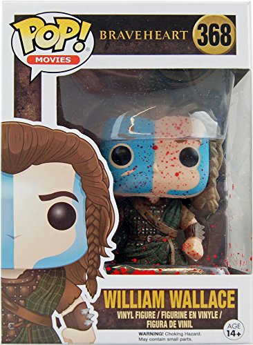 Funko - Figurine Braveheart - William Wallace Bloody Exclu Pop 10cm - 0889698125482
