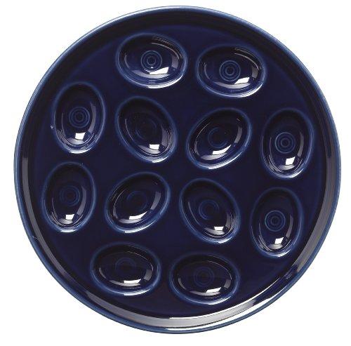 Fiesta 11-Inch Egg Tray, Cobalt