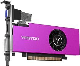 Yeston Radeon RX550 Gaming Graphics Cards, 4GB Memory GDDR5 128Bit 6000MHz VGA + HD + DVI-D GPU