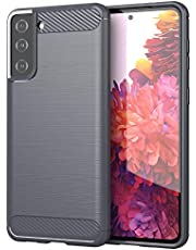 Galaxy S21 Plus 5Gケース カバー スマホケース 耐衝撃 薄型 擦り傷防止 グレー