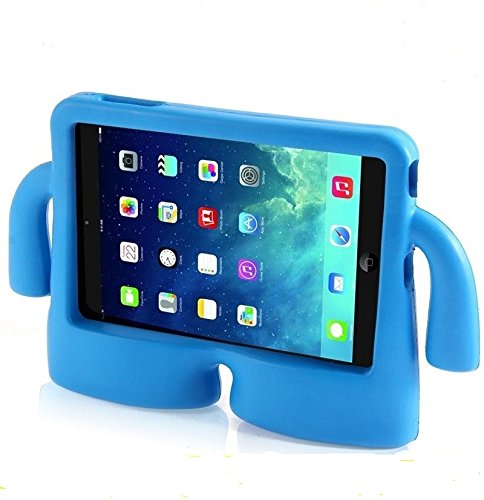 Vendopolis Funda para Tablet 10,1' para NIÑOS Goma NO ES Universal Solo Compatible con Samsung Galaxy con P7500/P600/TAB 3/P5210/P5200/TAB 4/T530/T531 (Azul)