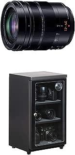 パナソニック ズームレンズ マイクロフォーサーズ用 ライカ DG VARIO-ELMARIT 12-60mm/F2.8-4.0 ASPH./POWER O.I.S. H-ES12060 + HAKUBA 電子防湿庫 E-ドライボックス 60リットル KED-60セット