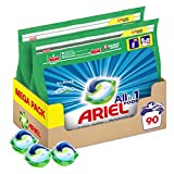 Ariel Allin1 Pods Lessive En Capsules, Parfum Alpine avec une Fraîcheur Longue Durée, 90Lavages...