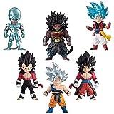 Dragon Ball Heroes adverge Broly Vegetto Vegeta Coora UI Goku Beat Blue Set de Figuras