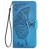 TANYO Coque pour Huawei Honor 9A / Play 9A, Housse PU/TPU Flip Cuir Portefeuille Etui avec Espèces...