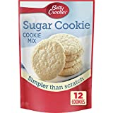 Betty Crocker Baking Mix, Sugar Cookie Mix, 6.25 Oz Pouch (Pack of 9)