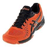 ASICS Gel-Challenger 12 Men's Tennis Shoe, Cherry Tomato/Black, 10.5 D US