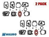 Genuine Walbro K20-WYL Carburetor Repair Kit for Ryobi Trimmer AC2, Honda Tiller ZM5, Maruyama Brush Cutter...