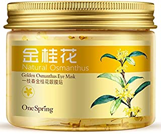 Natural Moisturizing Golden Osmanthuse Eye Mask Eye patch Sheet-from nature herbs, 120g