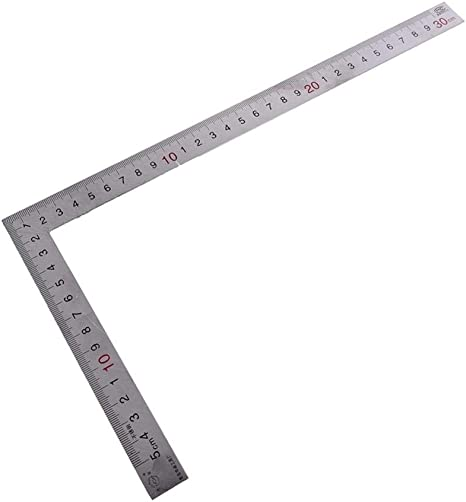 Metal Steel Engineers Try Square Set Wood Measuring Tool RIght Angle