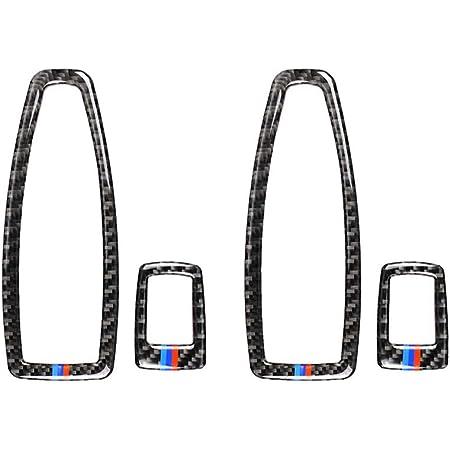 Demarkt Carbon Faser Für 1er F20 2er F21 2012 2016 3er F30 2013 2015 F34 2013 2016 Fenster Lift Schalter Button Rahmen Rand Aufkleber Zubehör 1 Set Auto