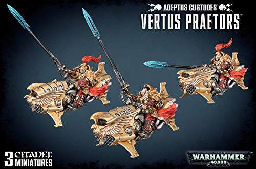 Games Workshop Warhammer 40k Adeptus Custodes Vertus Praetors