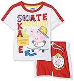 Sun-City Peppa Pig Ropa Interior de Deporte, Rojo (Red Red), 5-6 Años para Niños